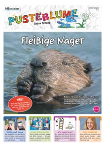 Titelseite Pusteblume-Kinderzeitung