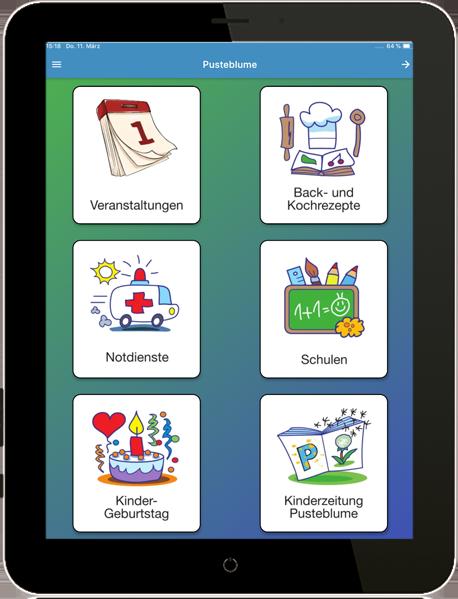 Pusteblume App - Elternbereich