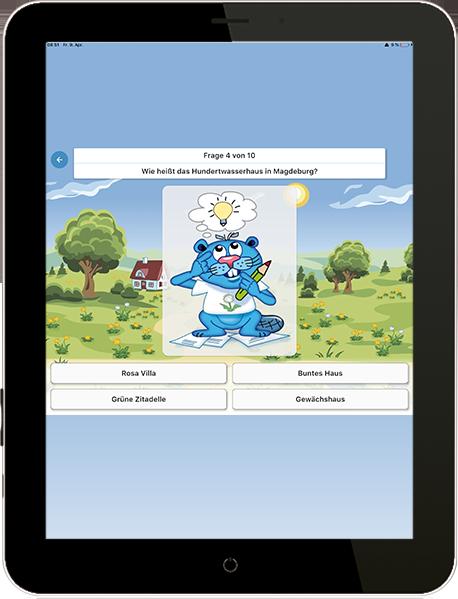 Pusteblume App - Quiz