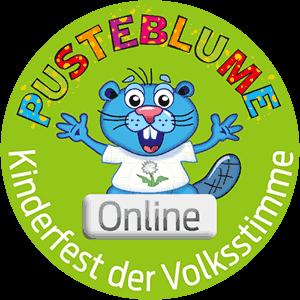 Logo Pusteblume Kinderfest online