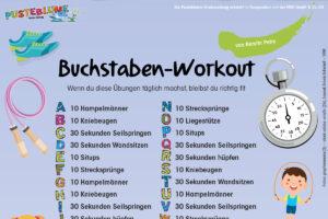 Buchstaben-Workout