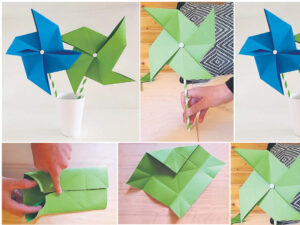 Origami Windräder